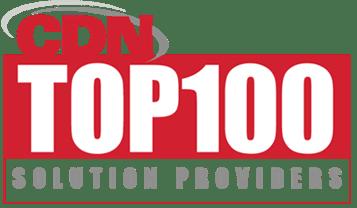 2018 cdn top 100 solutions providers logo