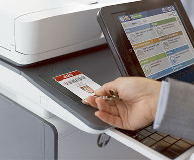 document management system state of print infrastructure security hp mfp
