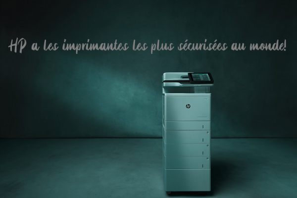 hp printer with security
