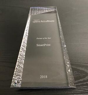 picture of smartprint upland award