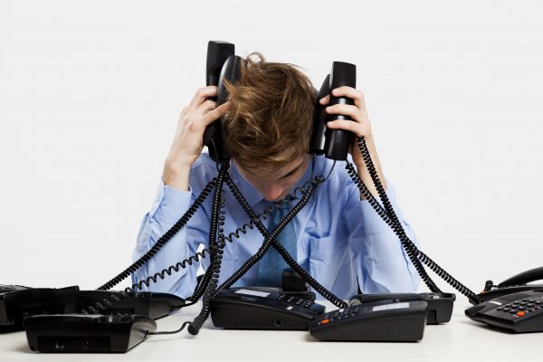 it person taking print server related calls